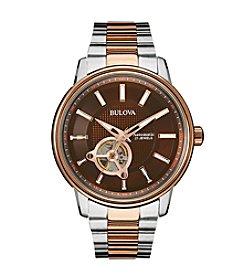 Bulova® Men's Two Tone Automatic Watch