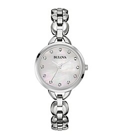 Bulova® Women's Stainless Steel Watch