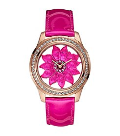 Guess Super Blooming Sporty Rose Goldtone Watch