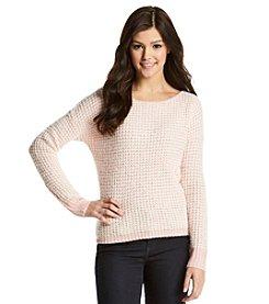 Jolt® Textured Fuzzy Pullover