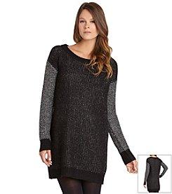 BCBGeneration™ Textured Tunic Sweater