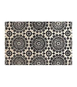 Shemiran Rugs Greenwich Ivory/Black HG252 Area Rug