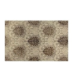 Shemiran Rugs Greenwich Taupe HG264 Area Rug