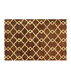 Shemiran Rugs Greenwich Chocolate HG265 Area Rug