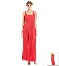 Jessica Simpson Pleated Maxi Dress