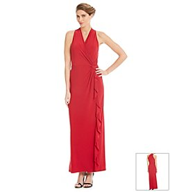 Nine West® Surplice Maxi Dress