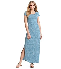 Ruff Hewn Burnout Filigree Maxi Dress