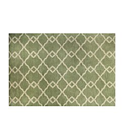 Shemiran Rugs Greenwich Light Green HG265 Area Rug