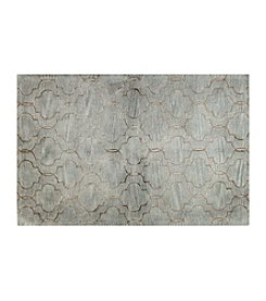 Shemiran Rugs Greenwich Light Blue HG266 Area Rug