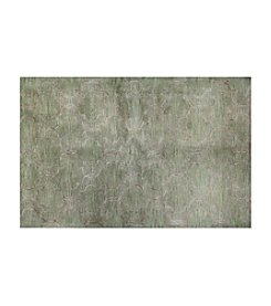 Shemiran Rugs Greenwich Light Green HG266 Area Rug