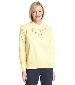 Morning Sun® Ladybug Scoop Sweatshirt
