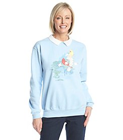 Morning Sun® Dogwood And Cardinals Sweatshirt