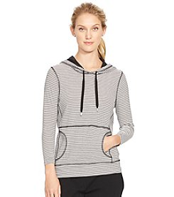 Lauren Active® Striped Hooded Pullover