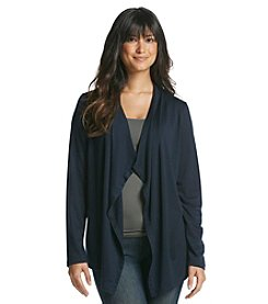 Jones New York Sport® Soft Feel Long Sleeve Open Cardigan