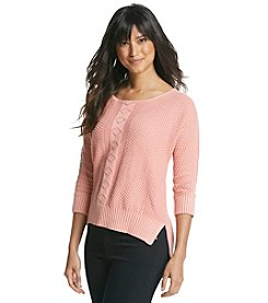 Fever™ High-Low Pullover Sweater