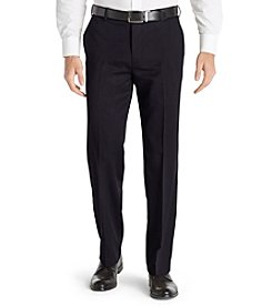 Van Heusen® Men's Straight Fit Flat Front Micro Melange Pants