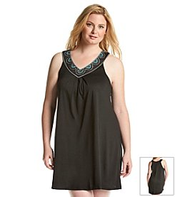 Dotti Plus Size Eye Candy V-Neck Coverup Dress