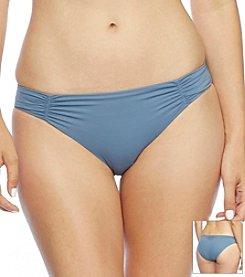 DKNY® Ring Solids Shirred Bottom
