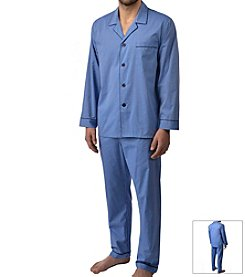 Majestic Men's Easy Care Long Sleeve Pajama Set