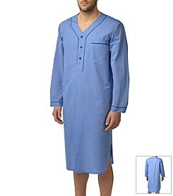 Majestic Men's Easy Care Night Shirt