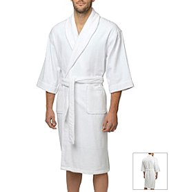 Majestic Men's Terry Velour Shawl Robe