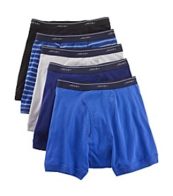 Jockey® Men's 5 Pack Classics Full Rise Boxer Brief
