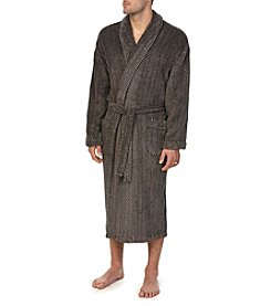 Majestic Men's Big & Tall Uptown Fleece Robe