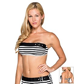 Beach House® French Stripe Bandeau Bra