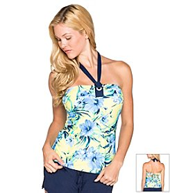 Beach House®  August Floral Bandini Top