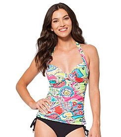Anne Cole® Paisley Print Tankini Swim Top