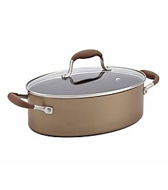 Anolon® Advanced 4-qt. Bronze Oval Covered Sauteuse