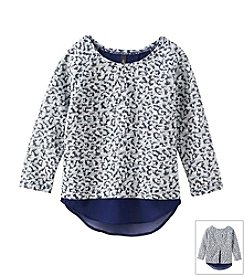 Jessica Simpson Girls' 7-16 Leopard Sweater