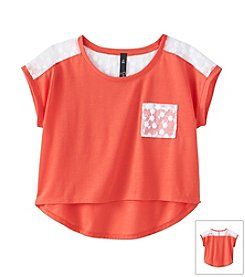 Jessica Simpson Girls' 7-16 Linden Top