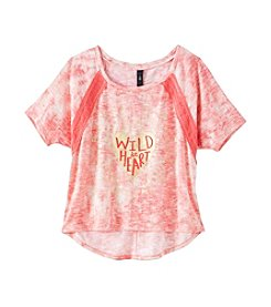 Jessica Simpson Girls' 7-16 Wild And Free Sweater