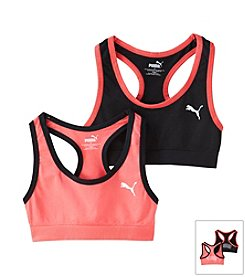 PUMA® Girls' 2 Pack Sports Bra