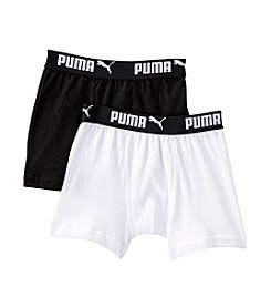 PUMA® Boys' 2 Pack Premium Boxer Briefs