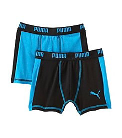 PUMA Boys' 5-16  2-Pack Boy's Trunks