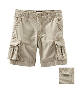 OshKosh B'Gosh® Boys' 2T-7 Khaki Cargo Shorts