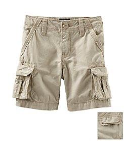 OshKosh B'Gosh® Boys' 2T-7 Khaki Cargo Shorts