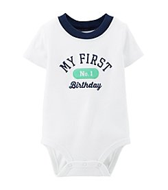 Carter's® Baby Boys' Birthday Bodysuit