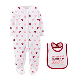 Carter's® Baby Girls' 2-Piece Sleep And Play