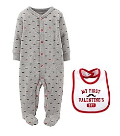 Carter's® Baby Boys' 2-Piece Valentine's Snap Set