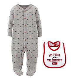 Carter's® Baby Boys' 2-Piece Valentine's Snap Set