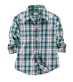Carter's® Baby Boys' Woven Plaid Shirt