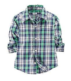 Carter's® Baby Boys' Woven Plaid Shirt
