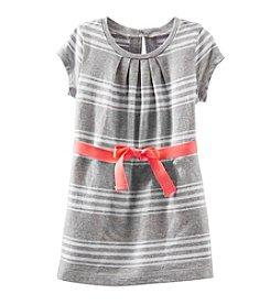 OshKosh B'Gosh® Baby Girls' Short Sleeve Striped Knit Dress