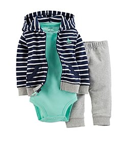 Carter's® Baby Boys' Striped Cardigan Set