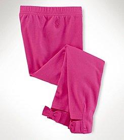 Ralph Lauren Childrenswear Girls' 2T-6X Bow Back Leggings