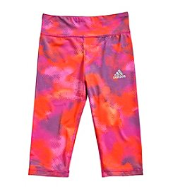 adidas® Girls' 2T-6X Climalite Camo Tights