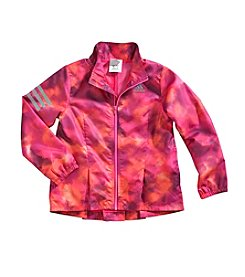 adidas® Girls' 2T-6X Camo Hustle Jacket